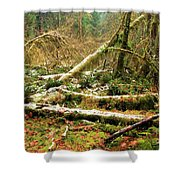 Rainforest Dusting Shower Curtain