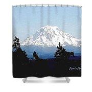 Rainier Reign Shower Curtain