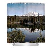Rainier Serenity Shower Curtain