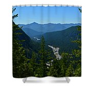Rainier Valley Shower Curtain