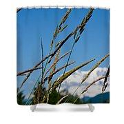 Rainier Weeds Shower Curtain