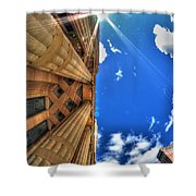 Raining Rays Shower Curtain