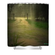 Rainy Daze Again Shower Curtain