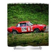 Rally Lancia 02 Shower Curtain