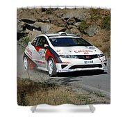 Rally Race Shower Curtain