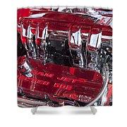 Ram Jet Pfi Gm Performance Parts Engine Shower Curtain