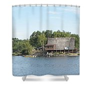 Ramsey Lake Sudbury Shower Curtain