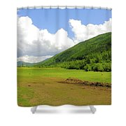 Ranching In The Boundary Shower Curtain
