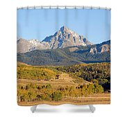 Ranching The Sneffels Shower Curtain