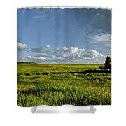 Rangeland View Shower Curtain