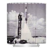 Ranger 7 Launch Shower Curtain