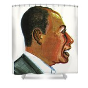 Raoul Peck Shower Curtain