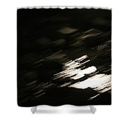 Rapid Nights Shower Curtain