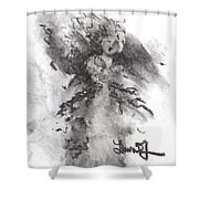 Rapture Of Peace Shower Curtain by Laurie Lundquist