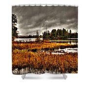 Raquette Lake In The Adirondacks Shower Curtain