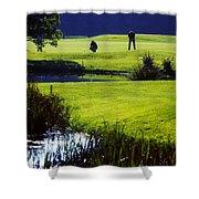 Rathsallagh Golf Club, Co Wicklow Shower Curtain