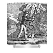Rattlesnake Shower Curtain