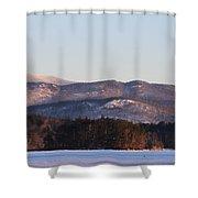 Rattlesnake Mtn. Shower Curtain