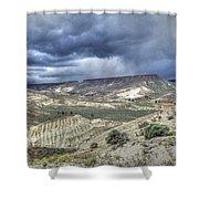 Rattlesnake Ridge Geological Site Shower Curtain