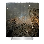 Magical Rattling Sky Shower Curtain