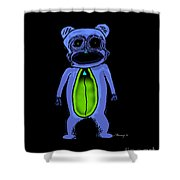 Rawwwr Inverse Shower Curtain