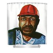 Ray Lema Shower Curtain