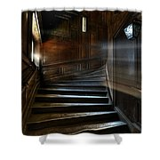 Ray Of Light Shower Curtain by Nathan Wright