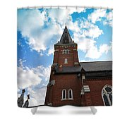 Reaching For Glory Shower Curtain
