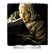 Reading Is Lifetime Passion Shower Curtain