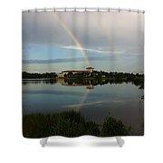 Reading Rainbow Shower Curtain