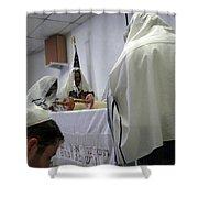Reading The Torah Shower Curtain
