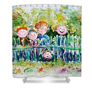 Ready For Adventures Shower Curtain