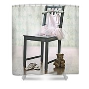 Ready For Ballet Lessons Shower Curtain by Joana Kruse
