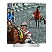 Ready To Race Shower Curtain