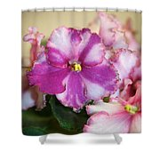 Rebel Petals Shower Curtain
