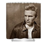 Rebel Without A Cause S Shower Curtain