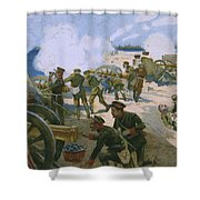 Rebellion In Venice Shower Curtain