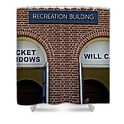 Rec Hall Shower Curtain