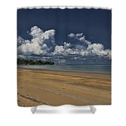 Receding Waters Shower Curtain