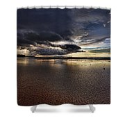 Receding Waters V2 Shower Curtain
