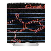 Recipe For Chocolate Shower Curtain