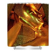 Reclining Buddha 2 Shower Curtain