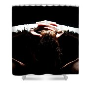 Recovering  Shower Curtain