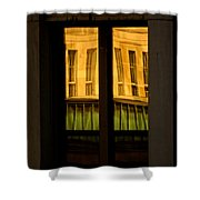 Rectangular Reflection Shower Curtain by Aimelle