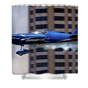 Red Bull Racer Shower Curtain