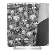 Red Candy Reflections Shower Curtain
