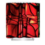 Red Green Shower Curtain