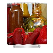 Red Hot Shower Curtain
