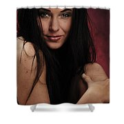Red IIi Shower Curtain