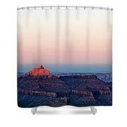 Red Peak Shower Curtain